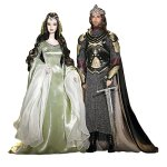 Barbie and Ken as Arwen and Aragorn from Lord of the Rings